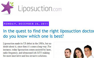 Liposuction Blog